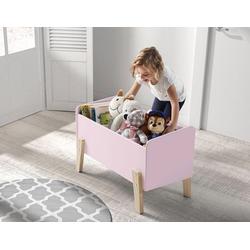 Vipack Spielzeugtruhe Kiddy, MDF-Oberfläche rosa