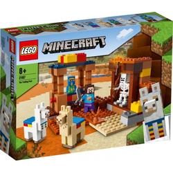 LEGO® Puzzle LEGO® Minecraft 21167 Der Handelsplatz, Puzzleteile