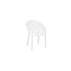 HTI-Living Gartenstuhl Stuhl weiß Forest