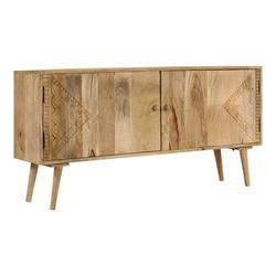 vidaXL Sideboard vidaXL Sideboard Massivholz Mango 120 x 30 x 60 cm