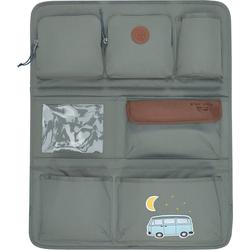 Lässig Auto-Rückenlehnentasche Auto Rückenlehnentasche 4kids Wrap-to-Go, Mushroom grau