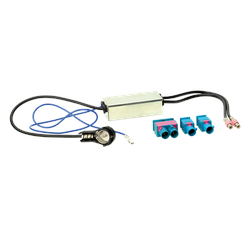 Antennenadapter VW 2x Fakra > ISO> 2x Fakra/Doppel-Fakra