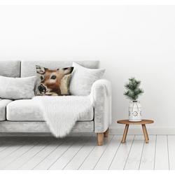 Kissenhülle Bambie, queence (1 Stück) 40 cm x 40 cm