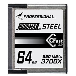 HOODMAN CFast Card 64GB 2.0 3700X U3 4K