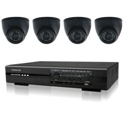 Videoüberwachung Set mit Farb IR Dome Überwachungskamera