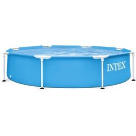 Intex Metal Frame Pool Set 244 x 51 cm inkl. Filterpumpe
