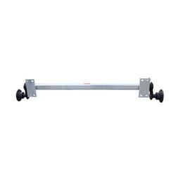KNOTT Achse VG7-L 750kg ungebremst, Auflage 1190mm Lochkreis 4x100, für Anhänger