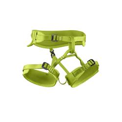 Edelrid Kinder-Klettergurt FINN, grün Gurtgröße - XXS, Gurtart - Hüftgurt, Gurtgewicht - 201 - 300 g, Gurtfarbe - Grün ,