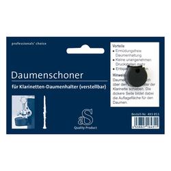 aS Daumenschoner für Klarinette verstellbar (eckig)