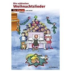 Die schönsten Weihnachtslieder  für Klavier - Buch