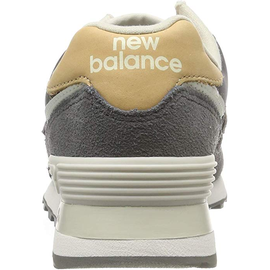 NEW BALANCE Women's 574 grey-beige/ white, 36.5
