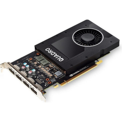 PNY NVIDIA Quadro P2000 5GB PCIe 3.0 Workstation Grafikkarte 4x DP