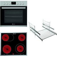 Bauknecht HEKO P300 Herd-Kochfeld-KombinationGlaskeramik-Kochfeld (60