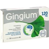 Hexal Gingium 120 mg Filmtabletten