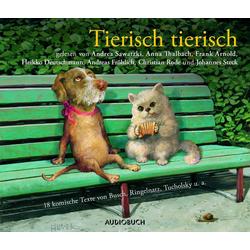 Tierisch tierisch als Hörbuch Download von W. Busch/ E. Geibel/ uva./