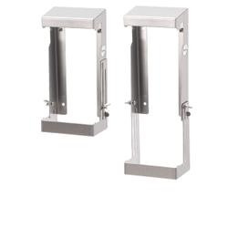 SanTRAL® FTSH 3 Feuchttuchspenderhalter, Halterung für großvolumige Feuchttuchspender, Material: Edelstahl