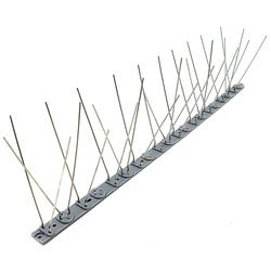 Vogelabwehr 2 Meter 60 Spikes - Taubenabwehr Taubenspikes Vogelspikes Fassadenschutz
