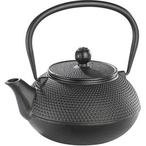 Asiatische Teekanne aus Gusseisen, 0,9 Liter, für säurearme Teesorten