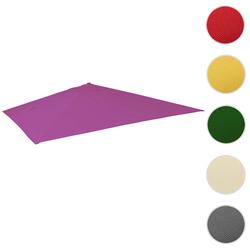 Bezug für Luxus-Ampelschirm HWC-A96, Sonnenschirmbezug Ersatzbezug, 3x4m (Ø5m) Polyester 3,5kg ~ lila-violett
