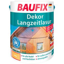 Baufix Holzschutzlasur Dekor-Langzeitlasur, 5 Liter, natur beige