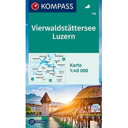KV WK 116 Vierwaldstätter See Luzern 40T 1:40000