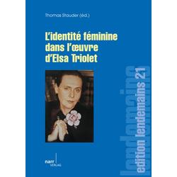Elsa Triolet als Buch von Thomas Stauder
