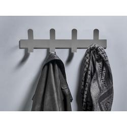 Zone Denmark Garderobenleiste A-Rack, Kleiderhaken, Garderobenhaken, Wandhaken grau