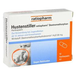 Hustenstiller-ratiopharm Dextromethorphan