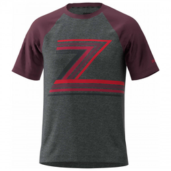 Zimtstern - The-Z Tee - T-Shirt Gr S schwarz/lila