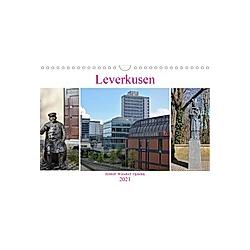 Leverkusen Hitdorf Wiesdorf Opladen (Wandkalender 2021 DIN A4 quer)