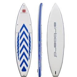 Airboard Inflatable SUP-Board Airboard STRIDER, (Set, 5 tlg., mit Pumpe und Transportrucksack) weiß