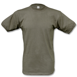 Brandit Bundeswehr T-Shirt Unterhemd oliv, Größe 10