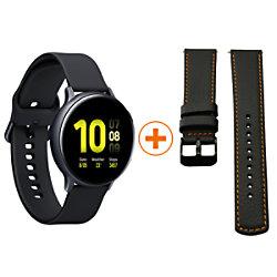 Samsung Sportuhr mit SIM Galaxy Watch Active2 Alu LTE Special Pack