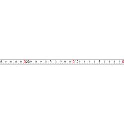 BMI Bandmaß weiß 2mx13mm selbStücklebend RNL-SK