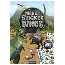 Meine Sticker-Dinos als Buch von