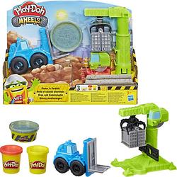 Play-Doh Kran und Gabelstapler Set