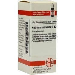 NATRIUM NITRICUM D 12 Globuli 10 g