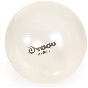 TOGU Gymnastikball MyBall, 65 cm, transparent
