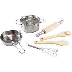 Hape Kinder-Küchenset Kochset für Küchenchefs, (7-tlg)