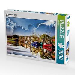 Der Hafen Greetsiel Lege-Größe 64 x 48 cm Foto-Puzzle Bild von Peter Roder Puzzle