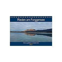 Rieden am Forggensee (Tischkalender 2021 DIN A5 quer)
