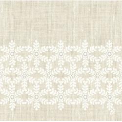 Duni Dunilin Servietten Farbe Linen Snow 40 x 40 cm 45 Stück