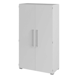 Büroschrank in Weiß 80 cm