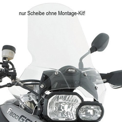 GIVI 333DT Windschild Transparent - Mit ABE, transparent