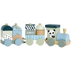 Eichhorn Spielzeug-Zug, aus Holz bunt Kinder Holzspielzeug Spielzeug-Zug