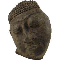 Guru-Shop Buddhafigur Buddhafigur, Buddhamaske aus Stein