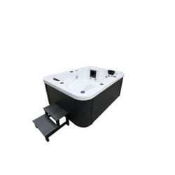 Home Deluxe Outdoor-Whirlpool White Marble