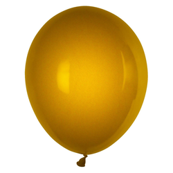 Luftballons gold Ø 250 mm, Größe 'M', 100 Stk.