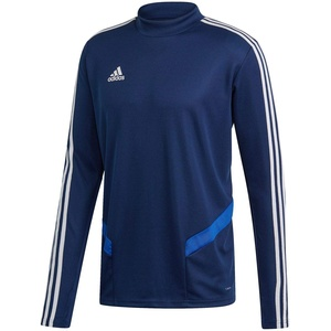 adidas Herren TIRO19 TR TOP Sweatshirt, Dark Blue/Bold Blue/White, XL/L