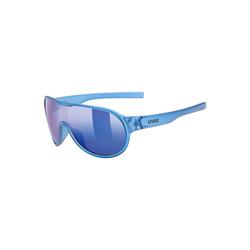 Uvex Sonnenbrille Sonnenbrille sportstyle 512 orange mat/mir.green blau